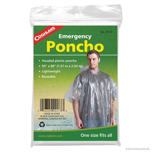 Peleryna foliowa EMERGENCY PONCHO