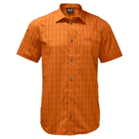 desert orange checks