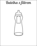 Butelki z filtrem