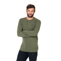 Koszulka WINTER TRAVEL HENLEY MEN