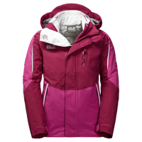 Kurtka 3w1 CROSSWIND 3IN1 JACKET KIDS