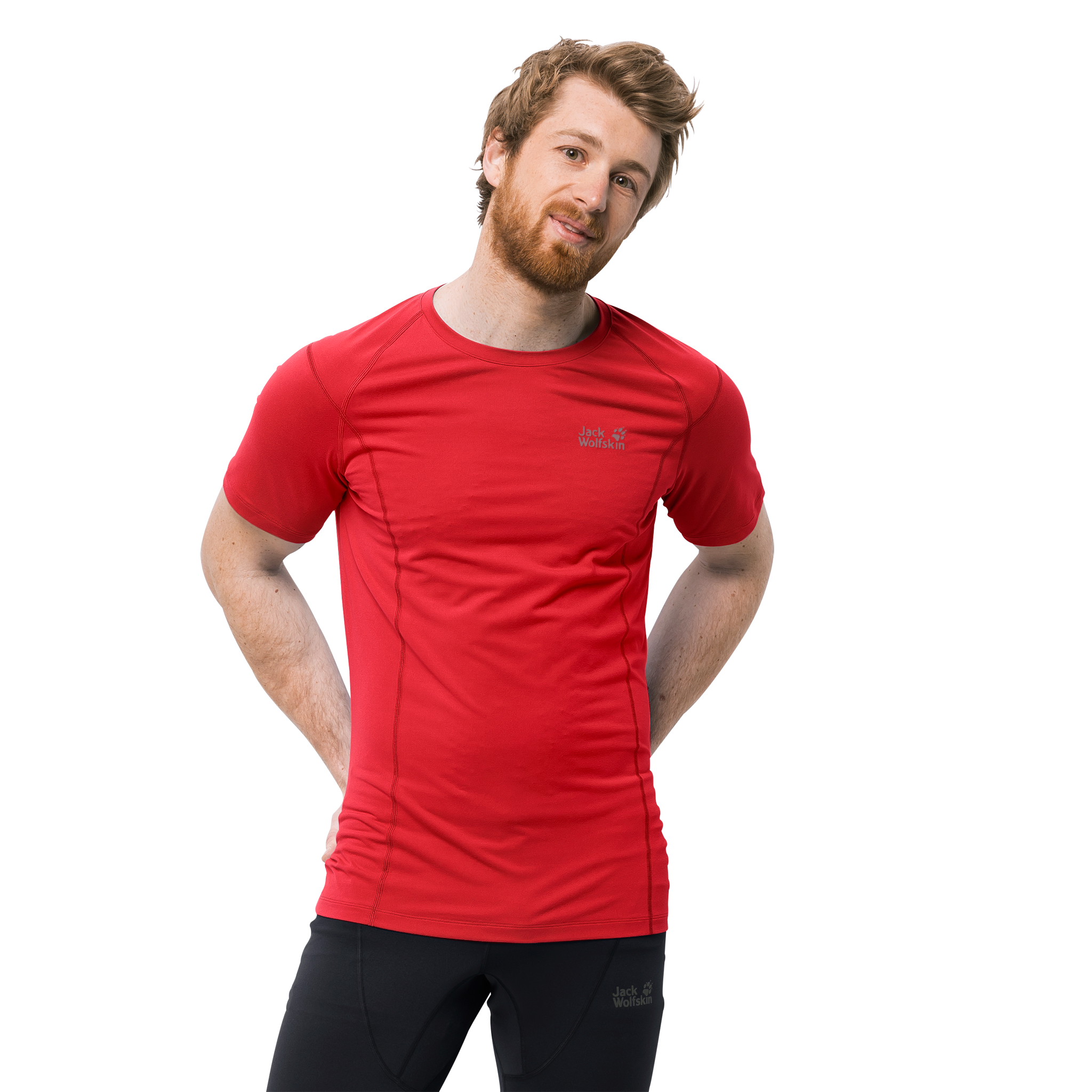 23475562839aca Koszulka HOLLOW RANGE T-SHIRT MEN ruby red   odzież \ męska ...