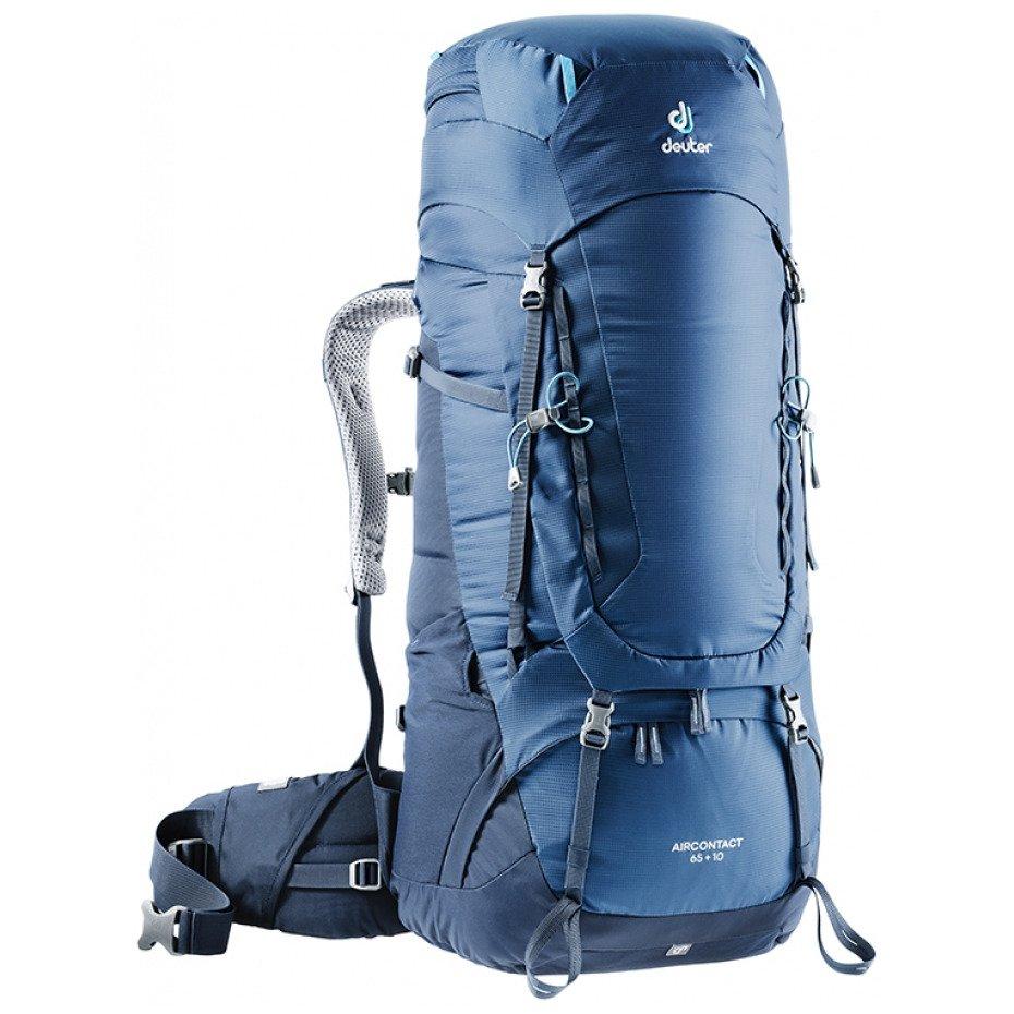 3f039270d122d Plecak AIRCONTACT 65+10 L midnight/navy   podróże i trekking ...
