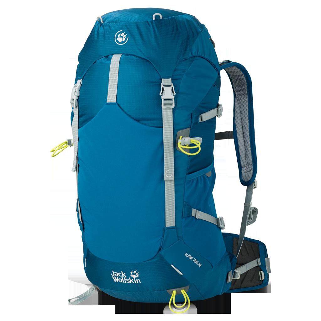 6c406f5b4e005 Plecak ALPINE TRAIL 40 moroccan blue | podróże i trekking \ plecaki ...