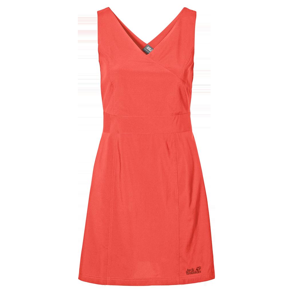 cf9b6175771426 Sukienka WAHIA DRESS hot coral | odzież \ damska \ sukienki i ...